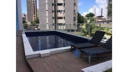 Vendo maravilhoso apartamento em Miramar com tres quartos e area de lazer completa