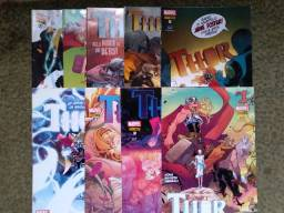 Revista Thor editora Panini, numeros variados