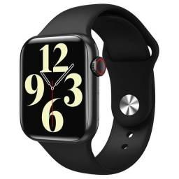 Relógio smartwatch w26 rose 44mm original touch