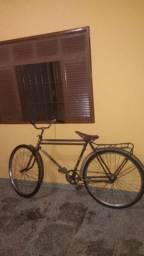 Bicicleta  Antiga  freio contra pedal
