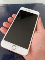 iPhone 8 Plus, 64 Gb, Rose Gold + capa emborrachada