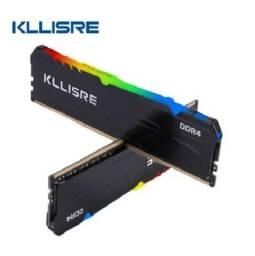 Memória Ram Ddr4 16GB (2 x 8GB) 3200mhz Kllisre Rgb