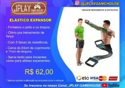 Expansor elástico para exercícios