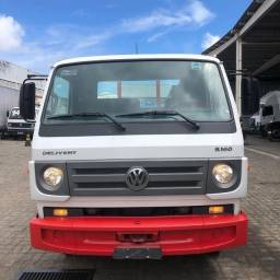 Caminhão 3/4 vw 8.160 plataforma