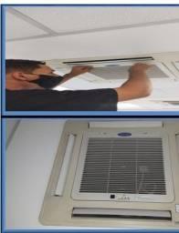 Serviço de higienização em Ar Condicionado