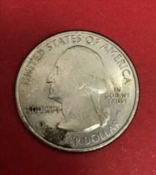 15 moedas de folar - quarter dollar, one cent e one dime