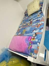 Beliche Infantil + 2 colchões infantis
