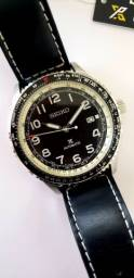 Relógio seiko automático prospex Aviation SRP661
