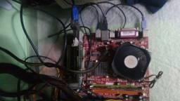 Placa mae 775 - suporte quad core
