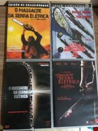 Coleção DVD Massacre da Serra Elétrica