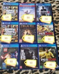 Jogos PlayStation 4 Vários Preços