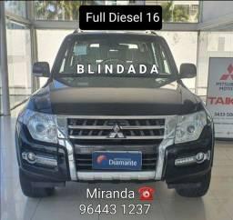 Pajero Full Diesel 16 Blindada Miranda