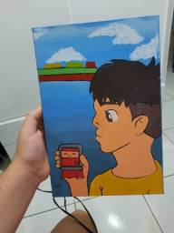 quadro decorativo infantil Ponyo