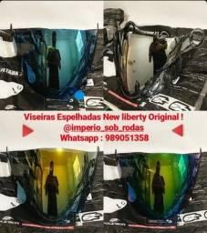 Aprovado VISEIRAS Espelhadas Para o Capacete New liberty