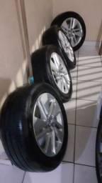 Aro e pneu 16 corola