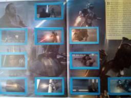 Título do anúncio: Star Wars Ataque dos Clones Álbum Panini completo