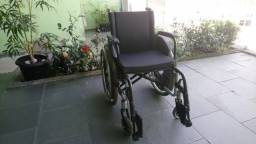Cadeira de Rodas Ortobras em alumínio aeronáutico