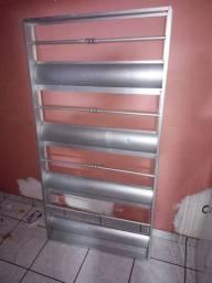Vendo grade de aluminio