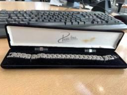 Pulseira Bracelete prata fina