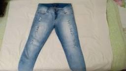 Calça Jeans Feminina Cigarrete Tamanho 44