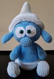 Crochê Amigurumi - Boneco Smurf