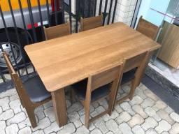 Mesa de jantar com 6 cadeiras - ENTREGAMOS!