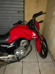 Moto fan 160 vermelha