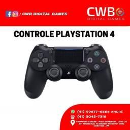Controle PS4 DualShock, Novo lacrado e com garantia , Loja Física