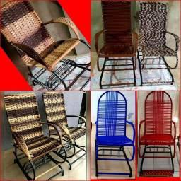 Cadeira de balanço fibra adulto
