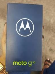 Moto G 30 Novo na Caixa
