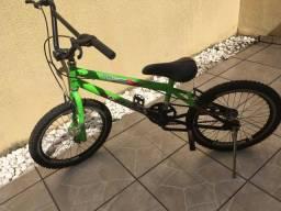 Bicicleta aro 20 Cross action status toda em aço