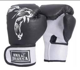 Luva de Boxe Profissional Para Treinos e Combates Masculina e Feminina