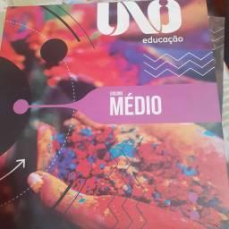 Livros UNOI, 1° ano ensino médio