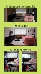 Projeto de Interiores - Projeto 3D