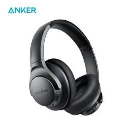 Fone de Ouvido Bluetooth Com Cancelamento de Ruído Ativo Anker Soundcore Life Q20 + Bag