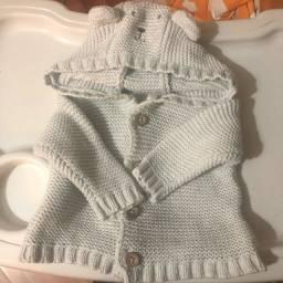 Casaquinho de tricot carters 3 meses