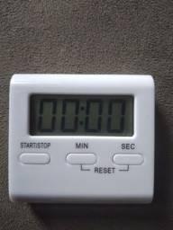 Alarme de cozinha com imã e pedestal novinho na caixa