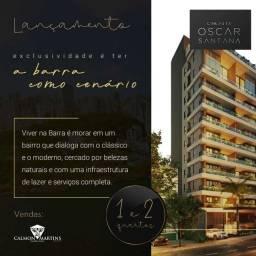 Apartamento 2 quartos, 66m², varanda, na Barra - Lançamento