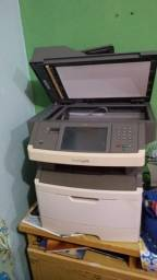 impressora multifuncional monocromatica lexmark x464