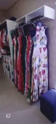 Móveis e Estoque de Loja de Roupas femininas