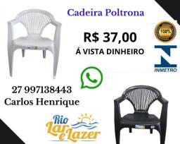 Cadeira Plástica Com Braço - Poltrona -