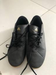 Chuteira Adidas Futsal NOVA, usada umas 3x só