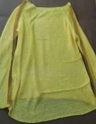Blusa de tricô tamanho G