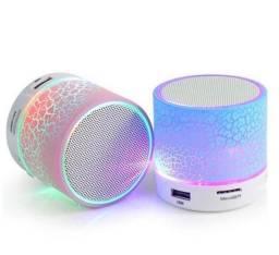 Caixinha Bluetooth LED