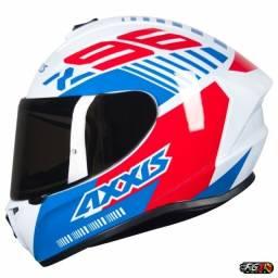 Capacete Axxis Draken Z96 White Gloss