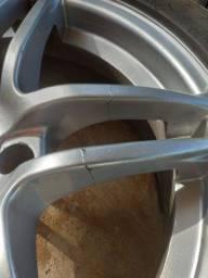 R17 215/45 Aro + pneus um aro está trincado!
