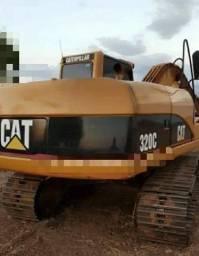 Escavadeira caterpillar 320c ano 2009