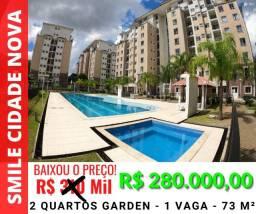 Título do anúncio: Apartamento Smile Cidade Nova - 2 Quartos Gardem