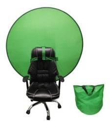 Título do anúncio: Tela cromakey verde portatil 142cm