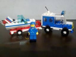 LEGO modelo 6698 Legoland Rv With Speedboat Original do ano 1986 (Raridade)